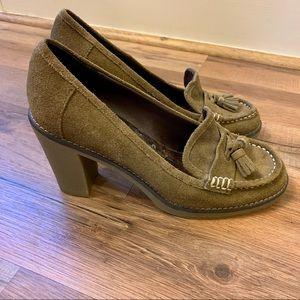 Tommy Hilfiger Loafer Style Block Heels